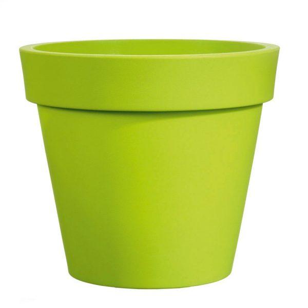 Bloempot Easy, rond Ø100 cm, H88 cm, groen - VECA