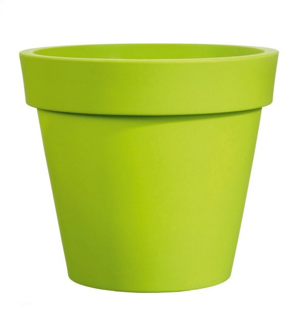 Bloempot Easy, rond Ø65 cm, H60 cm, groen - VECA
