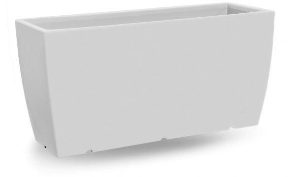 Plantenbak Genesis, L100 cm , H50 cm, wit - VECA